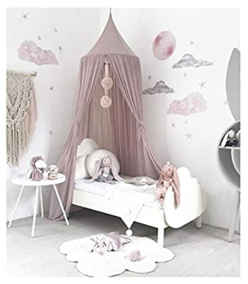 Kids Baby Dome Bed Canopy Bedcover Netting Curtain Fly Midge Insect Cot Mosquito Net - 240cm /94.5inch