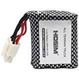 Hosim RC Cars Replacement Battery, 800mAh Li-ion Rechargeable Battery 15-DJ02 for 9112 9123 9123 RC Truggy High Speed…