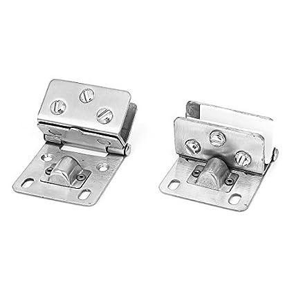 eDealMax 9 mm a 12 mm Espesor clips Estante de cristal ...