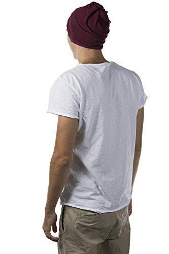 fina transformable cuello Burdeos con LOFOIO en gorro espiral Calentador de Ganzo wAqUxHI6