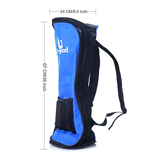 U-good Durable Fashion Two-wheel Self Balancing Electric Smart Scooter Bag Backpack(Blue/Black)