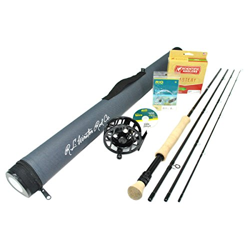 Winston Fly Fishing Rods - Winston Kairos 690-4 Fly Rod Outfit (6wt, 9'0