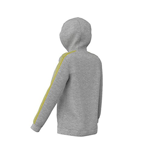adidas - Sudadera para mujer medium grey heather/haze yellow s13 (medium grey heather/haze yellow s13)