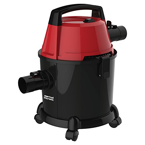 American Micronic AMI-VCD15-1600WDx 15-Litre Imported Vacuum Cleaner (Black)