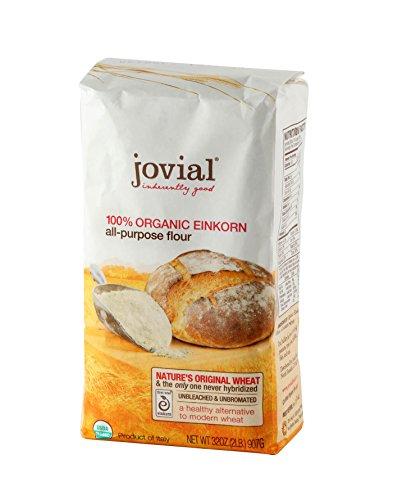 - Jovial Foods Organic Einkorn Flour, 32.0-Ounce