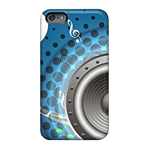 Scratch Protection Hard Cell-phone Cases For Apple Iphone 6 With Custom Fashion House Music Series Casesbest88