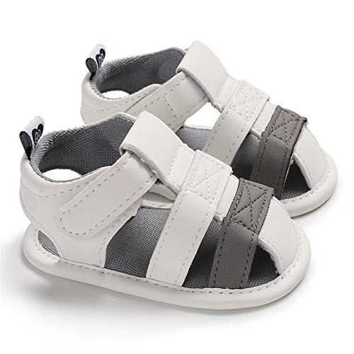 Save Beautiful Summer Baby Sandals Infant Boys Soft Sole Non-Slip First Walkers Shoes (4.33inches(0-6months), -