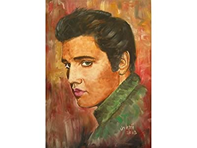 Oil Paintings of Elvis Presley Celebrities & Musicians. / Tracking.