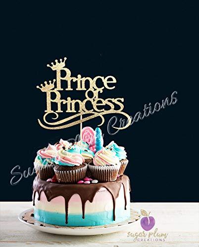 Prince or Princess Cake Topper Sugar Plum Creations .