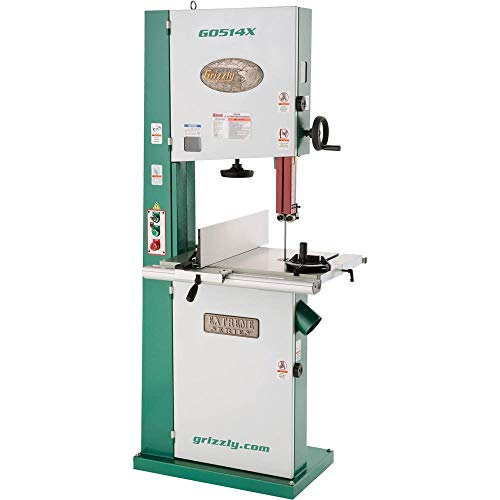 "Grizzly Industrial G0514X - 19"" 3 HP Extreme Series Bandsaw"