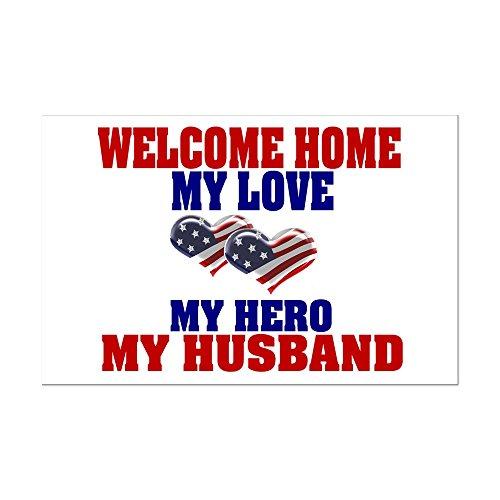 (CafePress - My Husband Welcome Home - Mini Poster)