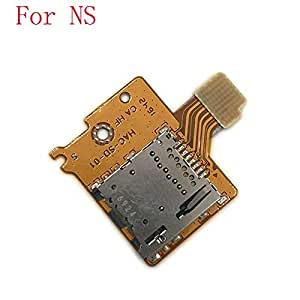 Amazon.com: Replacement TF SD Memory Card Slot Socket for Nintendo Switch NS NX Console ...