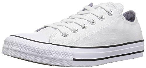 Converse Black Slip - Converse Women's Chuck Taylor All Star Shiny Tile Low TOP Sneaker, White/Black, 11 M US
