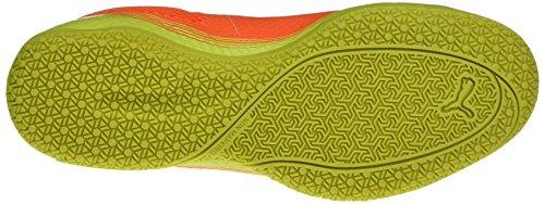 Puma Unisex-Erwachsene Invicto Fresh Fußballschuhe Orange (SHOCKING Orange-puma White-safety Yellow 07)