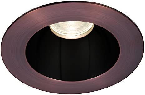 15-Degree Beam Angle Warm Light WAC Lighting HR3LEDT118SWSB//CB Tesla LED 3-Inch Open Round Trim 3000K