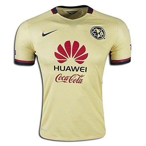 (Nike Soccer Replica Jersey: Nike Club America Authentic Home Replica Soccer Jersey 15/16)