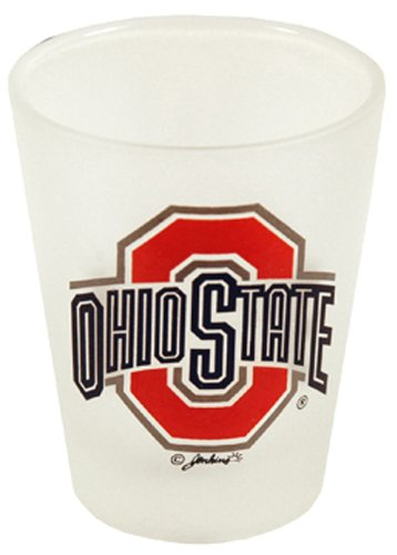 NCAA Ohio State Buckeyes Frosted Shotglass