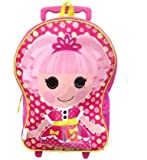 Lalaloopsy Large Pink Rolling Backpack 16″, Bags Central