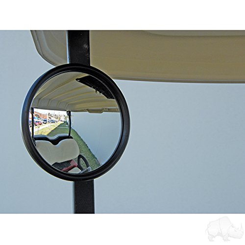 Misc Round Mirror - Golf Cart Round Side Mirror