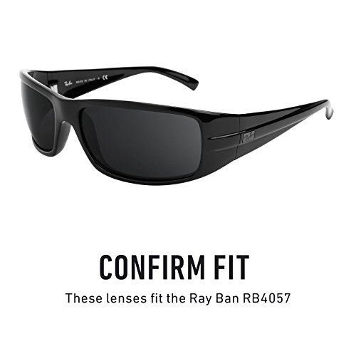f1d2afa277 Revant Polarized Replacement Lenses for Ray Ban RB4057 Stealth Black   Amazon.ca  Sports   Outdoors