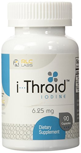RLC Labs I-Throid Capsules, 90 Count