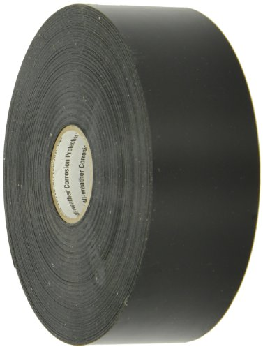 """3M 51-Unpainted-2"""" X 100' All-Weather Corrosion Protection Tape, Black, 1/each from 3M"""