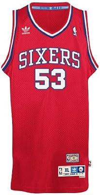 Darryl Dawkins Philadelphia 76ers Adidas NBA