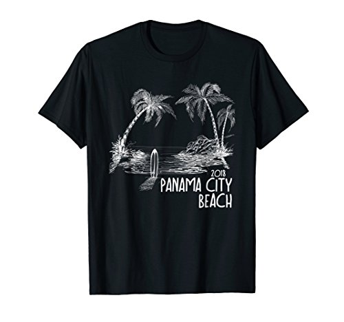 Vintage Panama City Beach Shirt Family Vacation 2018 Florida