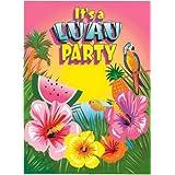 Amazoncom Hawaiian Invitations Event Party Supplies Home