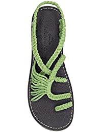 Hand-Woven Rope Sandals Flats For Women and Girl Peafowl, Beach Wear, Summer Braided Strip, Casual Vacation