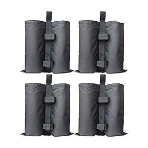RIOGOO 4pcs-Pack Pesos para Carpas Bolsas Pesadas de Arena Cosida de Grado Industrial para Trabajo Pesado, Pesas de piernas para Pop-up Canopy Carpa Pies Cargados