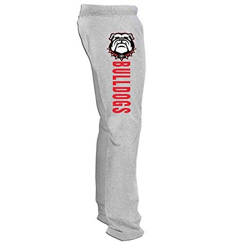 (Bode Men Georgia Bulldogs College Workout Pants)