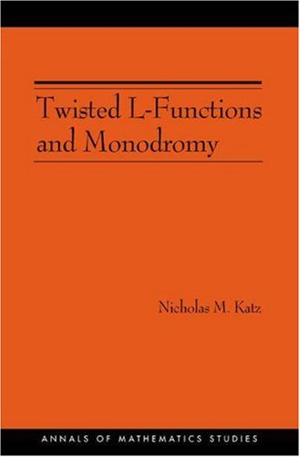 Twisted L-Functions and Monodromy.