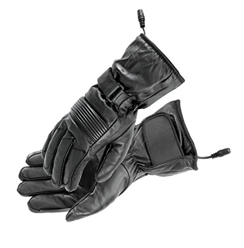 (Firstgear Women's Heated Rider Gloves (MEDIUM) (BLACK))