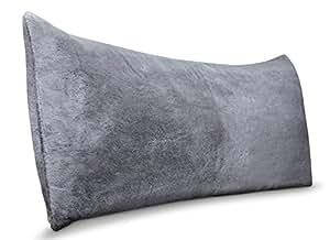 Amazon Com Room Essentials Body Pillow Cover Grey Faux