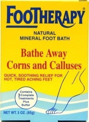 Queen Helene Footherapy 3 oz. Mineral Foot Bath (Case of 6)