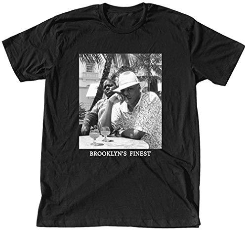 MERCH TRAFFIC Jay-Z & Biggie Men's Brooklyn's Finest T-Shirt L
