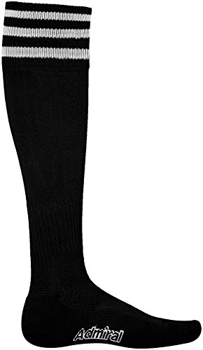 Admiral Professional Soccer Referee Sock, Black/White, Youth