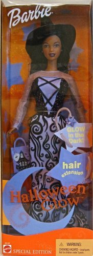 Barbie Halloween Glow Special Edition African American 2002