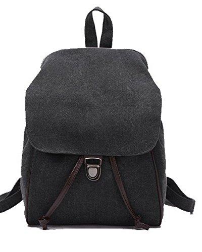 VogueZone009 Daypacks dos Kaki de Boucle Noir Escalade randonnée Daypack à Femme CCAFBO181365 Sacs rOqw85r