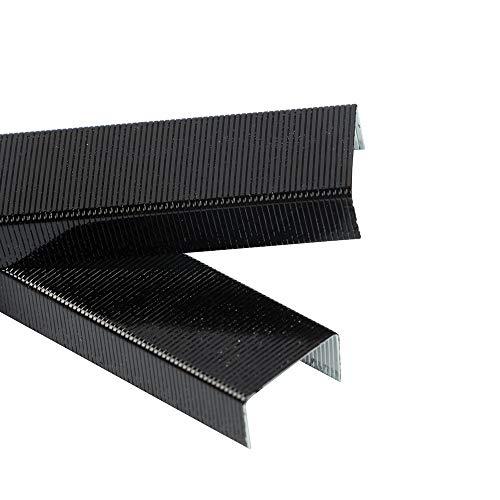 (JAM PAPER Standard Size Colorful Staples - Jet Black - 5000/box)