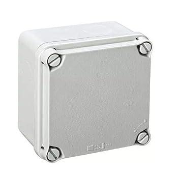 IDE EX111 IP65-IP67 Caja Estanca de Derivación con Tapa Opaca y ...