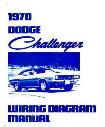 amazon com 1970 dodge challenger wiring diagrams schematics rh amazon com 1973 dodge challenger wiring diagram 2012 dodge challenger wiring diagram