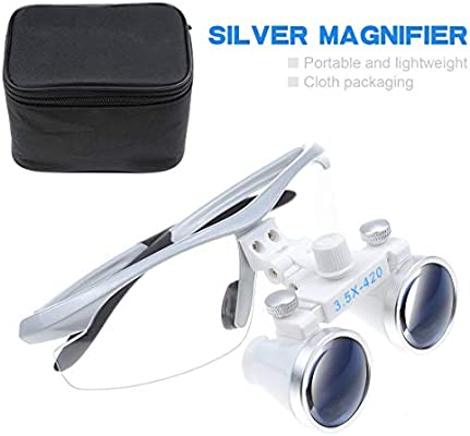 Amazon.com: Power 3,5 x Dental Binocular Loupes 420 mm ...