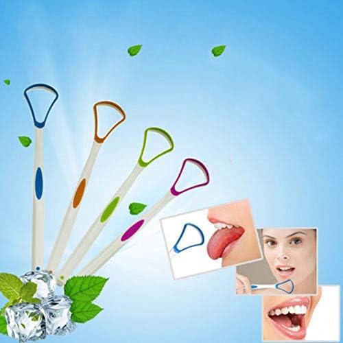Yamysalat Zungenschaber, Edelstahl, Zungenschaber, Mundbürste, Reinigungsschaber, Griff, sauberer Atem