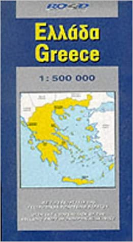 Map of Greece Road Map Amazoncouk Road Editions 9789608481794