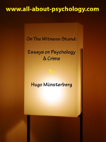 On the witness stand essays on psychology crime kindle edition on the witness stand essays on psychology crime by mnsterberg hugo fandeluxe Choice Image