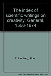 The Index of Scientific Writings on Creativity General: 1566-1974