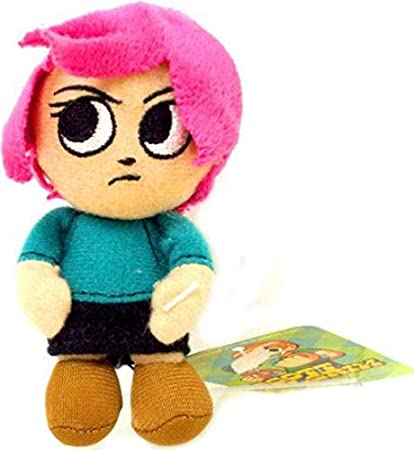 Amazon Mezco Toyz Scott Pilgrim Mini Plush Clip Ramona Flowers