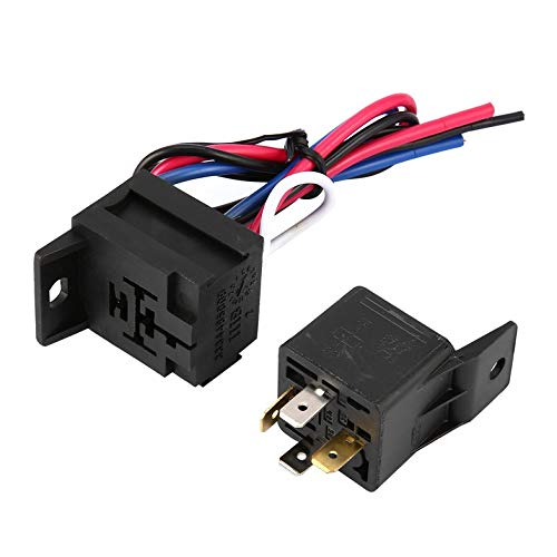ouying1418 Racing Car 12V Ignition Switch Panel Engine Start Button LED Toggle 2-gear
